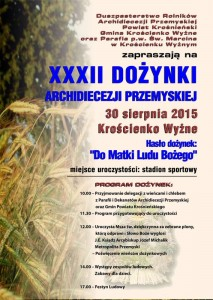dozynki2015_kroscienko_plakat